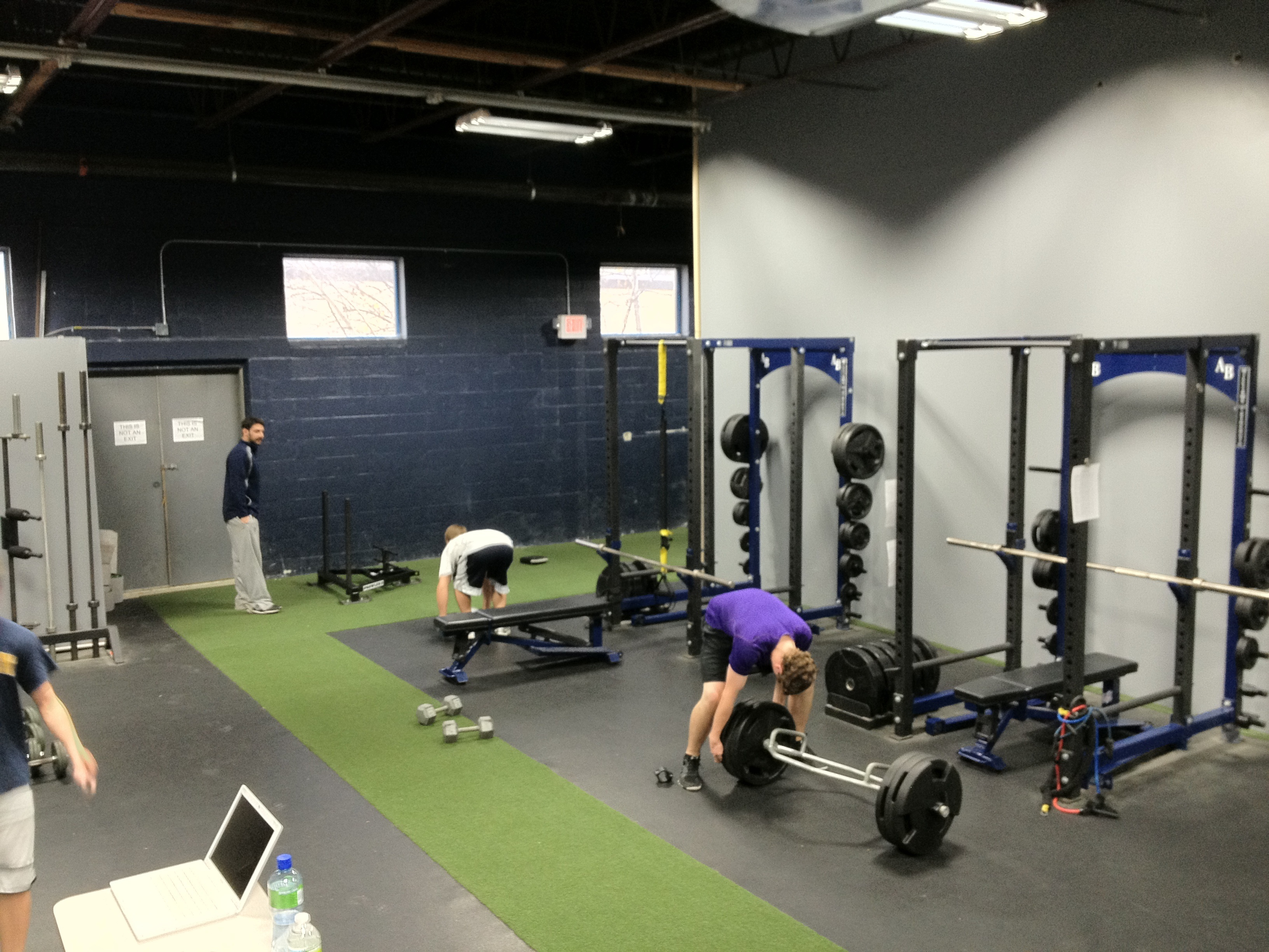 Training programs are not random wasserman strength for Athletic training facility design