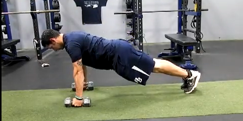 Baseball/Softball Training: Wrist Extension Protected Pushups