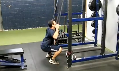 Exercise of The Week: Band Assisted Squat Jumps