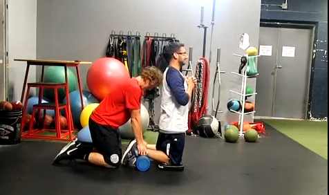 Baseball/Softball Training: Eccentric Hamstring Lowers