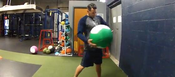 Baseball/Softball Training: Rotation MB Throws