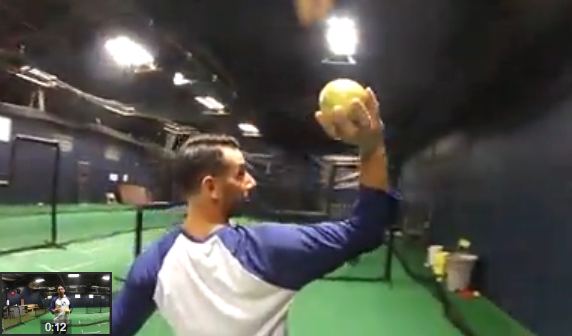 High Level Throwing: Hand Position & 4-Seam Grip