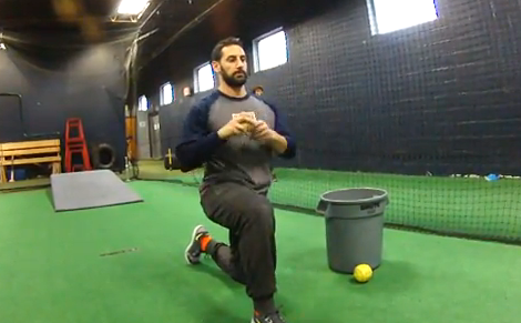 High Level Throwing: 1/2 Kneeling Hip to Trunk Relationship Throw