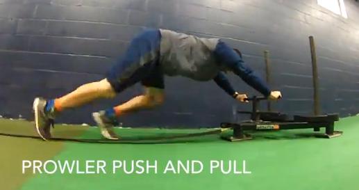 Baseball/Softball Training: Prowler Push & Pull