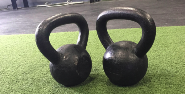 Exercise of the Week: Kettlebell Squat with Overhead Hold Progression