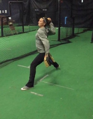 High Level Throwing: Softball Crow Hop Throws