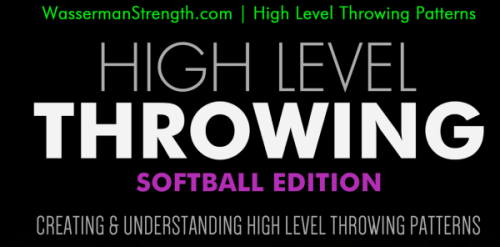 High Level Throwing: FREE Softball Warm Up & Progression