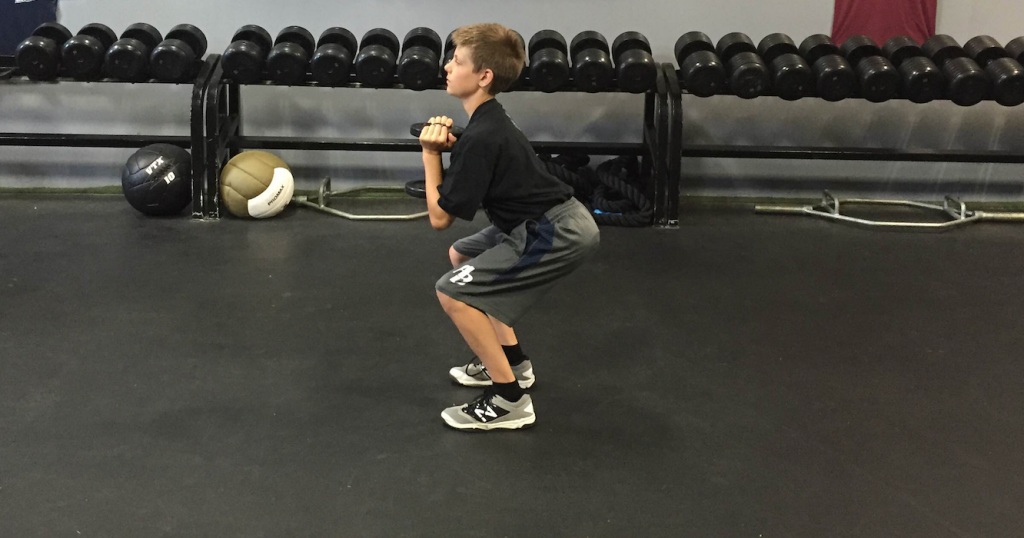 Teaching Young Kids How to Squat