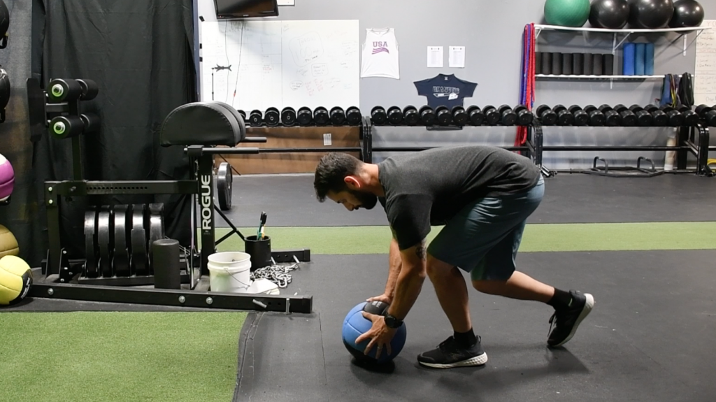 Training Upper Body Explosiveness – Sprinter MB Chest Pass